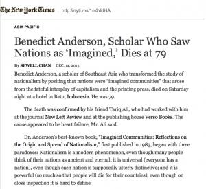 NYT obituary